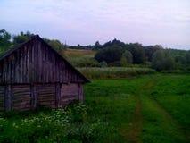 Casa de la aldea Fotos de archivo libres de regalías