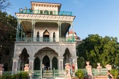 Casa de la arquitectura de la belleza en cienfuegos cuba Fotografía de archivo libre de regalías