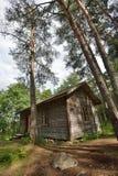 Casa de la cabaña de la selva Foto de archivo libre de regalías