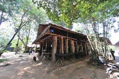 Casa de la cabaña de la selva Foto de archivo