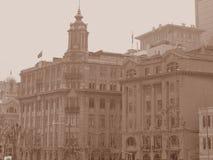 Casa de la calle de Shangai Imágenes de archivo libres de regalías