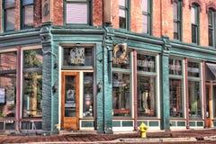 Casa de la cervecería y del golpecito de Hopcat Foto de archivo libre de regalías
