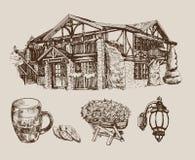 Casa de la cerveza Fotografía de archivo libre de regalías