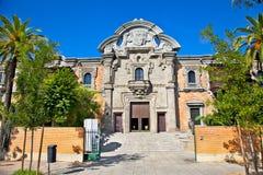 Casa de la Ciencia在塞维利亚。西班牙。 图库摄影