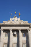 Casa de la Ciutat or Town Hall of Barcelona Royalty Free Stock Photography