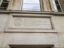 Casa de la colina de la col rizada de la BBC en Londres, hdr fotos de archivo