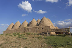 Casa de la colmena en Harran, Turquía Imagen de archivo