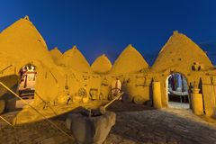 Casa de la colmena en Harran, Turquía Fotos de archivo