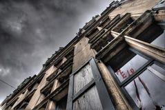 Casa de la condenación Fotos de archivo libres de regalías