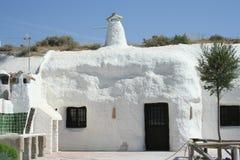 Casa de la cueva Imagen de archivo