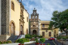 Casa de la cultura, La Orotava, Tenerife island Royalty Free Stock Photos