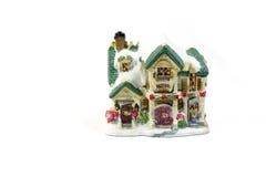 Casa de la decoración de la Navidad - 1 Foto de archivo
