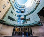 Casa de la difusión de la BBC en Londres, hdr fotos de archivo