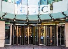 Casa de la difusión de la BBC en Londres (hdr) fotos de archivo libres de regalías