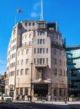 Casa de la difusión de la BBC en Londres (hdr) imagen de archivo libre de regalías
