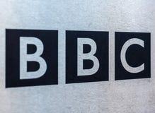 Casa de la difusión de la BBC en Londres (hdr) fotos de archivo