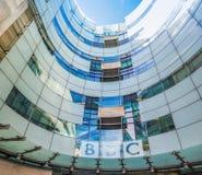 Casa de la difusión de la BBC en Londres (hdr) imagen de archivo
