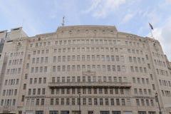 Casa de la difusión de la BBC en Londres fotografía de archivo