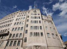 Casa de la difusión de la BBC en Londres imagen de archivo