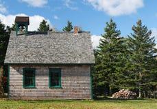 Casa de la escuela vieja Foto de archivo libre de regalías
