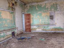 Casa de la escuela vieja Imagen de archivo libre de regalías