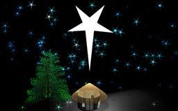 Casa de la estrella Foto de archivo
