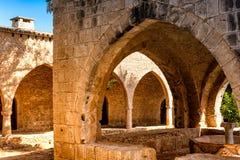 Casa de la fuente en el monasterio de Ayia Napa chipre Imagenes de archivo