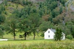 Casa de la granja Imagen de archivo libre de regalías