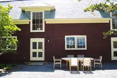 Casa de la granja de Gedney Imagen de archivo