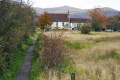 Casa de la granja del país Fotos de archivo