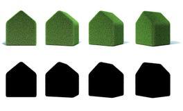 Casa de la hierba Fotografía de archivo libre de regalías