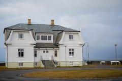 Casa de la historia de Islandia del iin de la casa de Hofdi foto de archivo