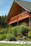 Casa de la madera Imagen de archivo libre de regalías