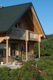 Casa de la madera Fotografía de archivo