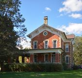 Casa de la madera-Tellkamp Imagenes de archivo