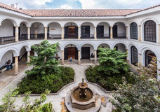 Casa de La Moneda Bogota Colombia Royalty Free Stock Photo