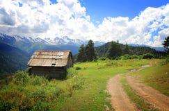 Casa de la montaña Fotografía de archivo
