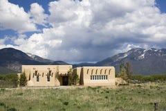 Casa de la montaña Imagen de archivo libre de regalías