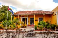 Casa de la MusAcaa/特立尼达古巴 库存图片