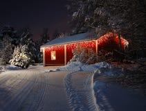 Casa de la Navidad Fotografía de archivo