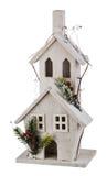 Casa de la Navidad del invierno Imagen de archivo