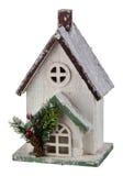 Casa de la Navidad del invierno Foto de archivo