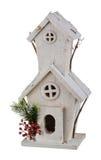 Casa de la Navidad del invierno Foto de archivo libre de regalías
