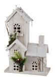 Casa de la Navidad del invierno Imágenes de archivo libres de regalías