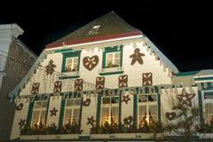 Casa de la Navidad en Alemania Imágenes de archivo libres de regalías