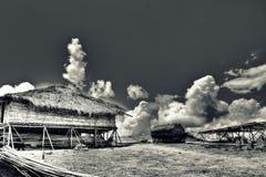 Casa de la nube Imagenes de archivo