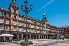 Casa DE La PanaderÃa, Pleinburgemeester, Madrid, Spanje, España Stock Afbeeldingen