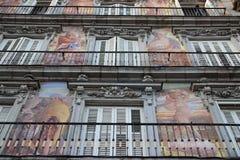 Casa de la PanaderÃa in sindaco Madrid, Spagna della plaza Immagine Stock Libera da Diritti