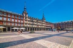 Casa de la PanaderAaa,广场马德里,西班牙, España市长, 图库摄影