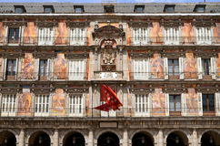Casa de la Panaderia en alcalde de la plaza en Madrid, balneario Fotos de archivo